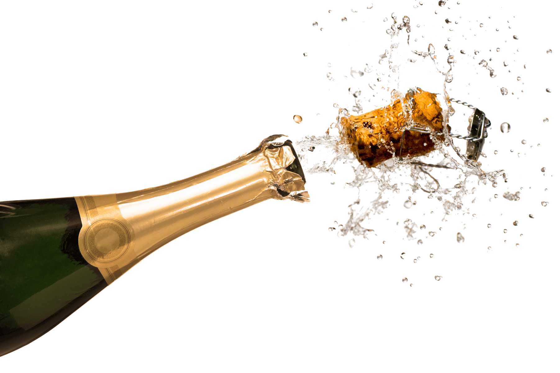 Champagne-fles-ontkurkt - Ladiesbusiness.nl